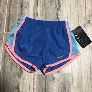Nike Dry Fit 3T Girls Shorts Comet Blue
